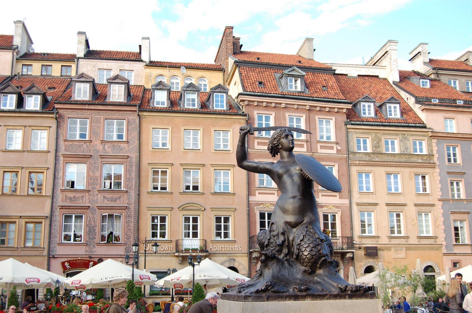 Sirenita de Varsovia