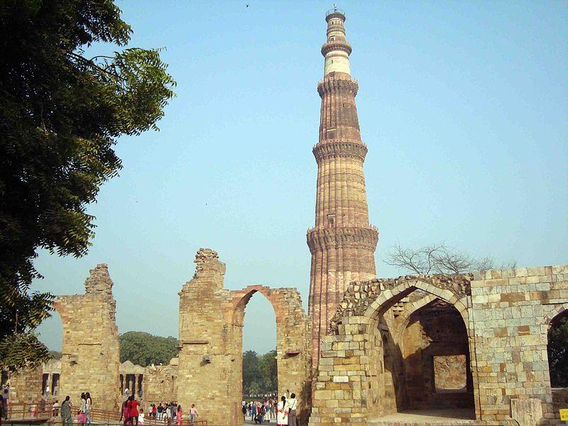 Minarete Qutub Dehli