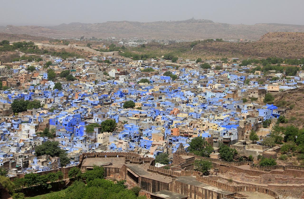 Jodhpur, la ciudad azul, una maravilla de India
