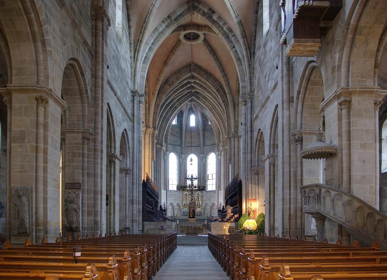 interior catedral Bamberg