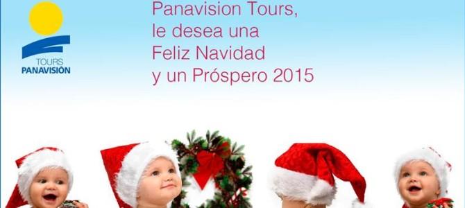 Panavisión Tours os desea Felices Fiestas