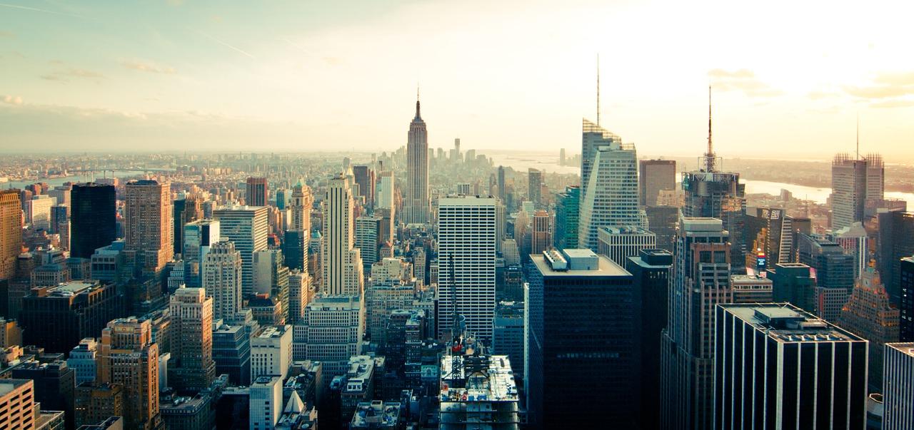 Skyline Nueva York, lugar de cine
