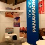 El stand de Panavisión Tours sirvió de punto de reunión con profesionales del sector.