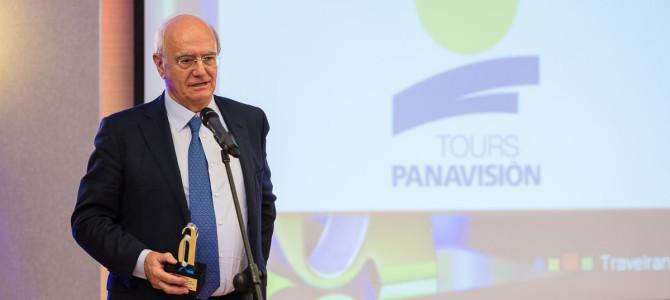 Panavisión Tours recibe el premio a la mayorista más vendida para Europa