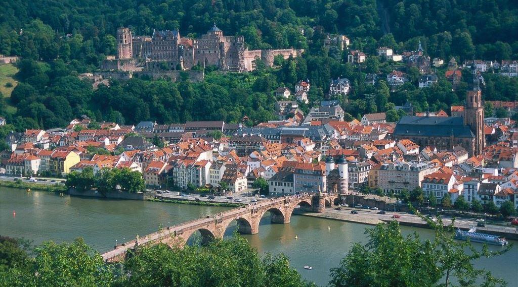 Panorámica Heidelberg