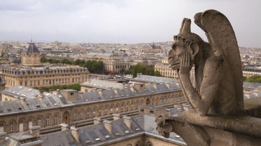 Vista terraza Notre Dame
