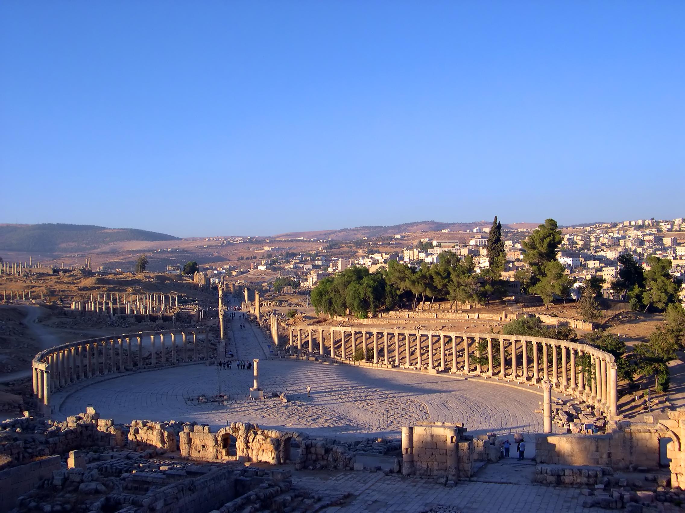 Columnata Jerash