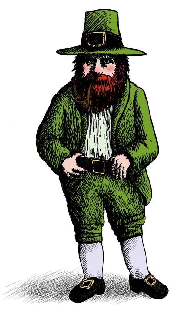 Si ves a un personaje así en Irlanda, no le pierdas de vista.