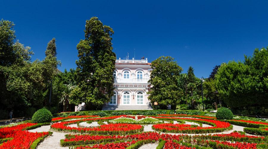 Jardines en Opatija