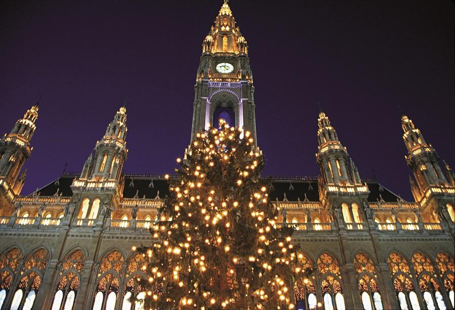 Te proponemos pasar el fin de año en Viena con música en vivo y fuegos artificiales.