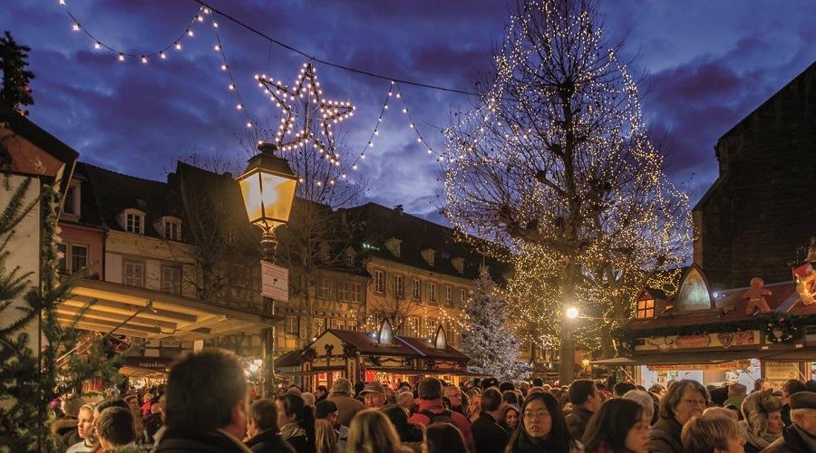 En diciembre podrás recorrer alguno de los mercadillos de Navidad más encantadores de Europa.