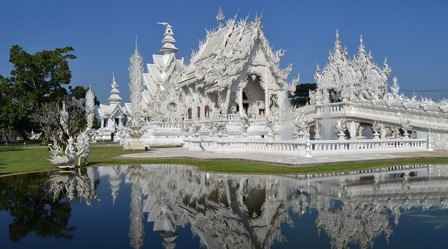 Templo Blanco Tailandia