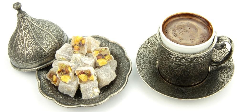 Café turco y delicias turcas