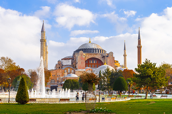 Santa Sofía, en Estambul, es uno de los templos más espectaculares del mundo