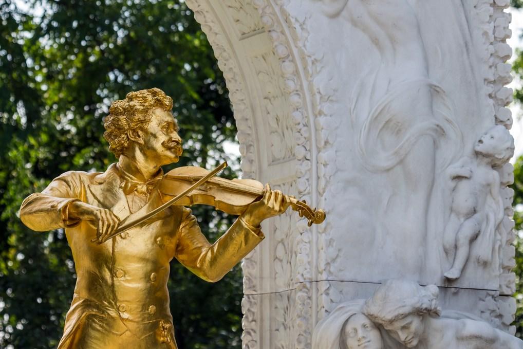 Estatua Strauss