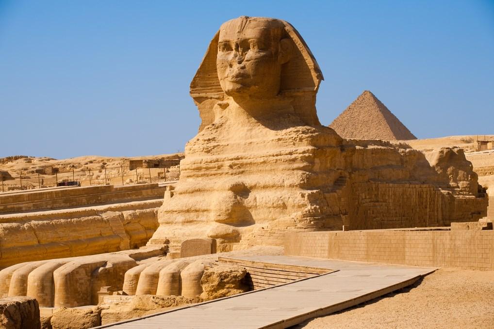La Esfinge es, quizás, una de las estatuas más enigmáticas del mundo.