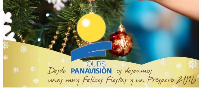 Desde Panavisión Tours os deseamos Felices Fiestas