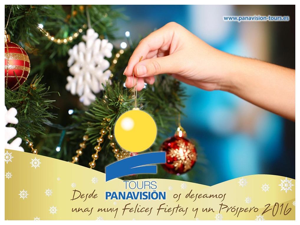 Panavisión Tours os desea Feliz Navidad