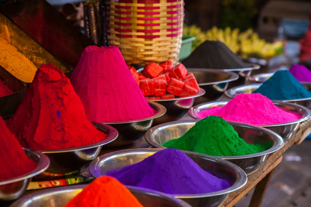 La Fiesta Holi es una de las fiestas más coloridas del mundo.