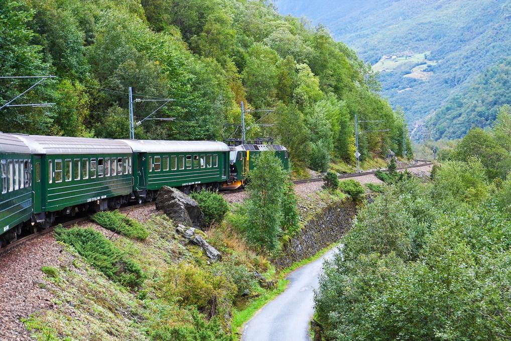 tren Flam Sognefjord
