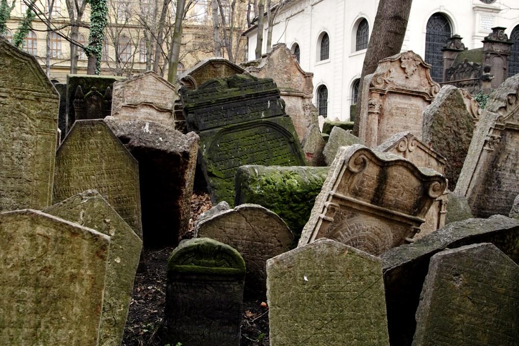 Lapidas cementerio Praga