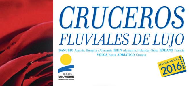 Panavisión Tours publica su folleto de cruceros fluviales 2016