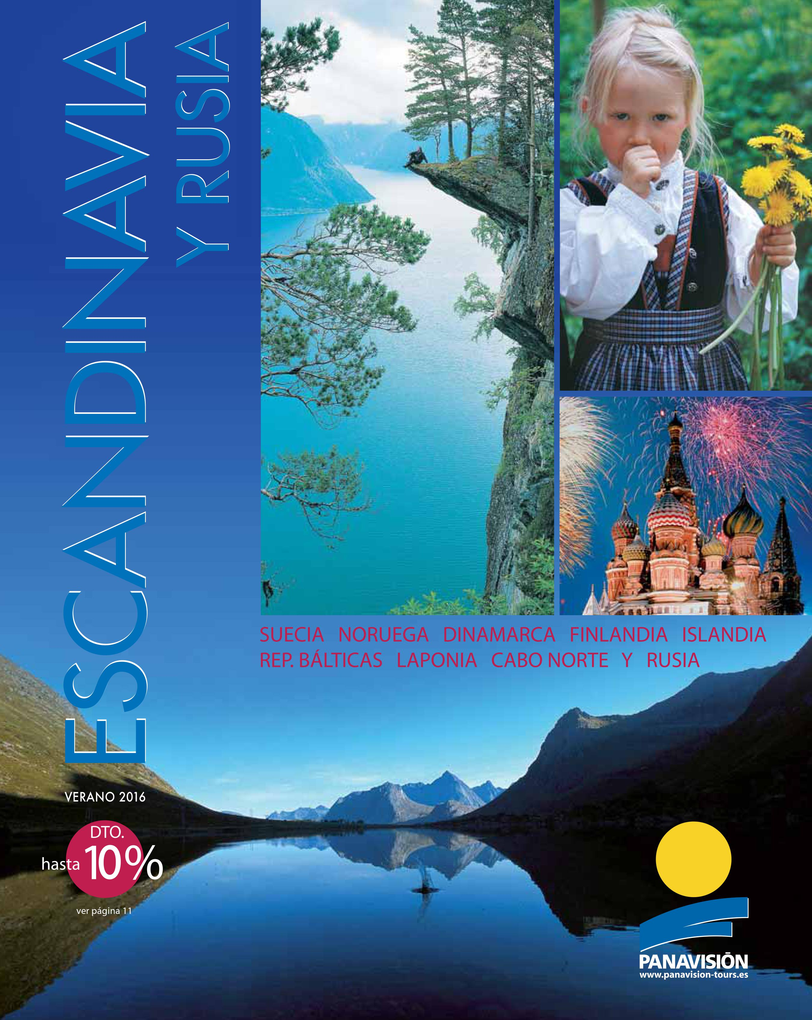 Panavisión Tours presenta su nuevo folleto Estandinavia y Rusia