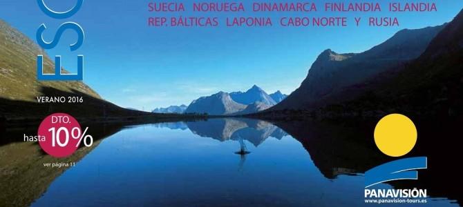Panavisión Tours publica su folleto Escandinavia 2016