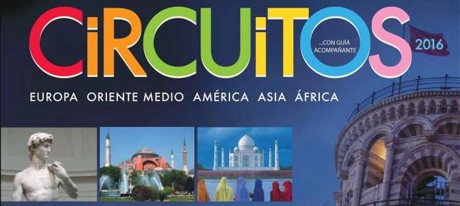 Panavisión Tours publica su folleto de circuitos para el verano de 2016