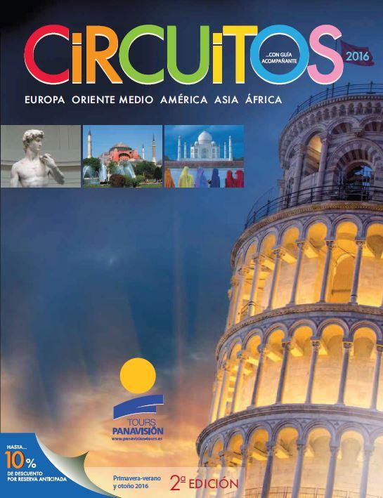 Te contamos novedades de nuestro nuevo folleto de circuitos para el verano de 2016