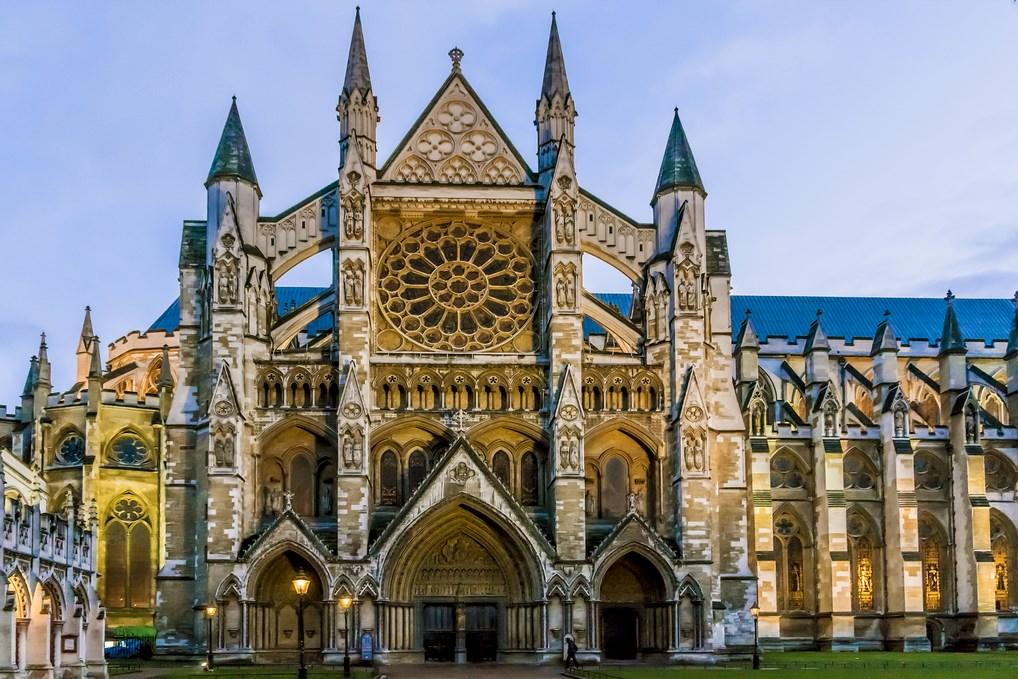 La Abadía de Westminster es uno de los monumentos más conocidos de Londres.