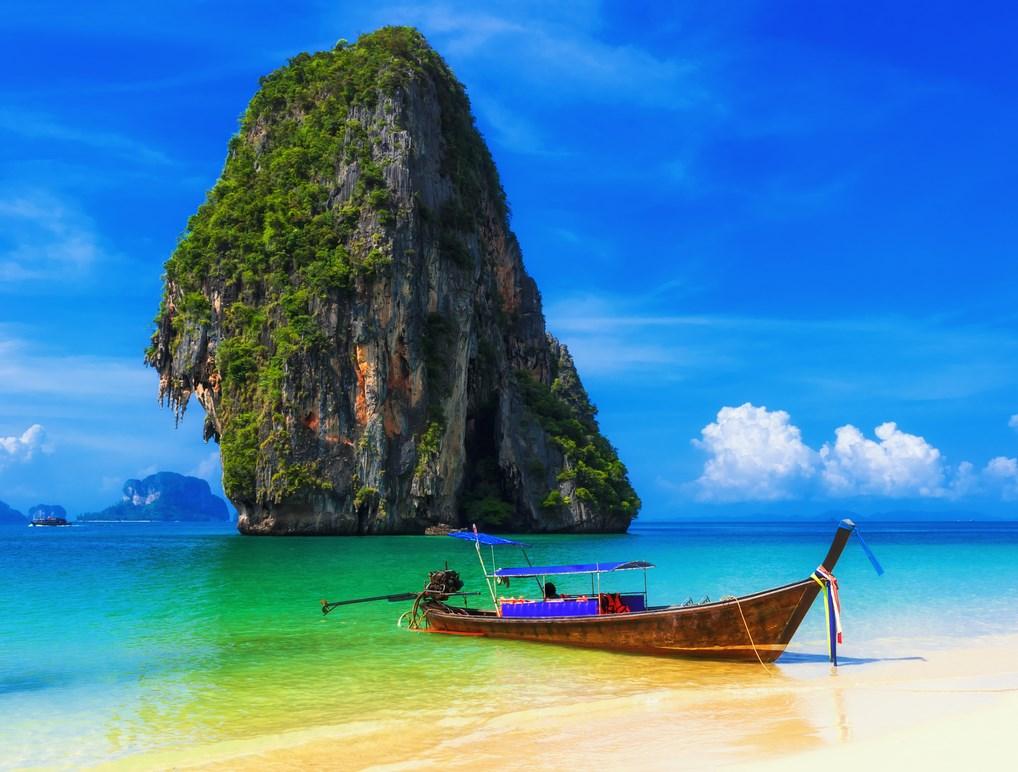 Las playas de Tailandia parecen sacadas de una postal.