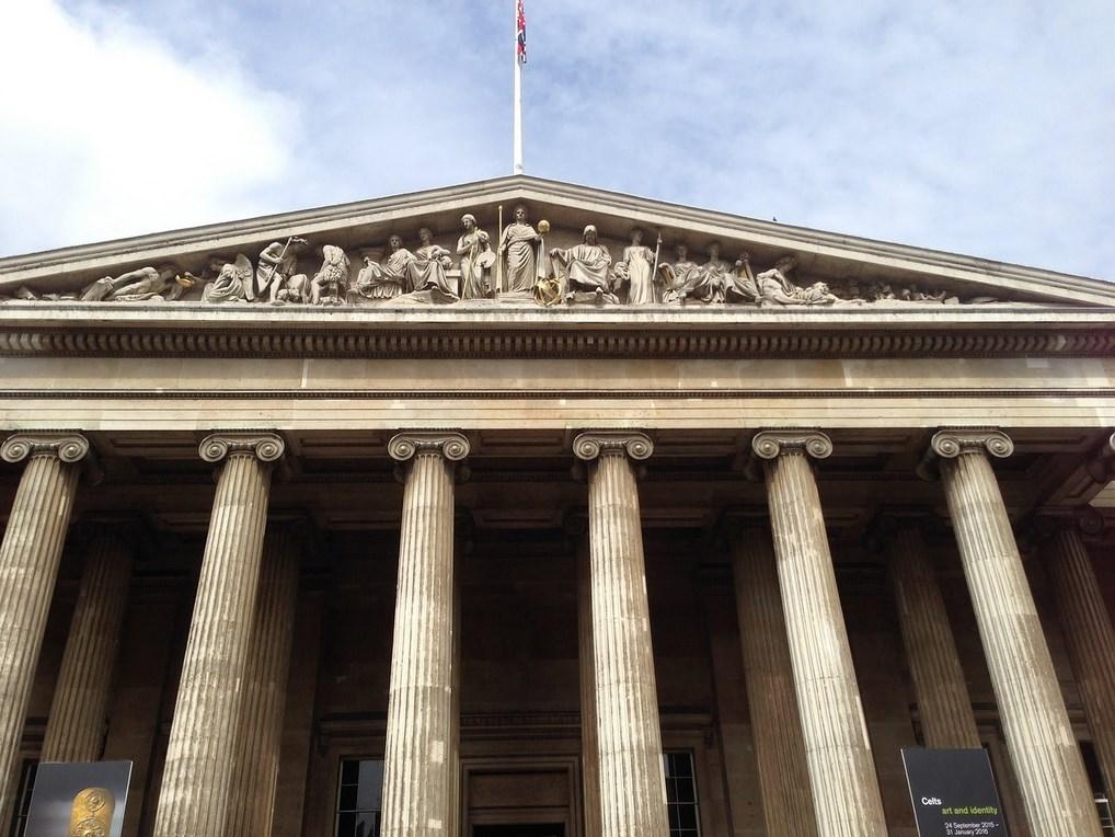 El Museo Británico es uno de los mejores museos del mundo.