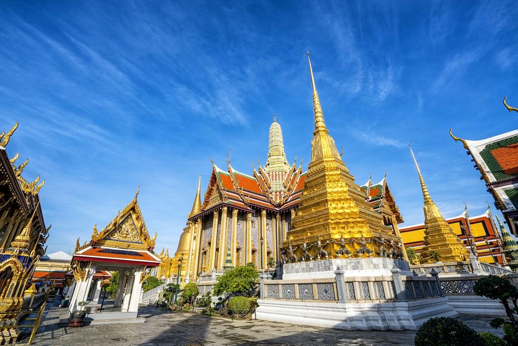 El Templo de Buda de Jade en el Palacio Real de Bangkok, donde se guarda el objeto más venerado de Tailandia.