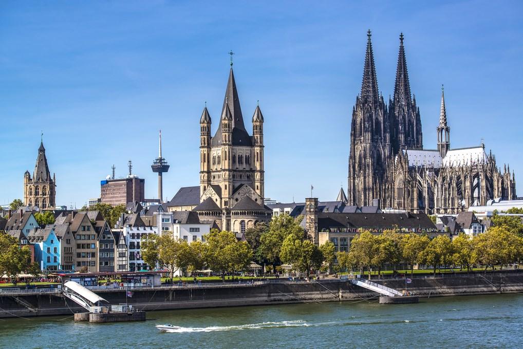 La Catedral de Colonia es una de las más espectaculares de Europa.