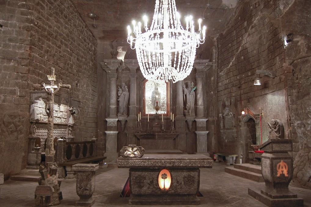 Las Minas de Sal de Wieliczka sorprenden.