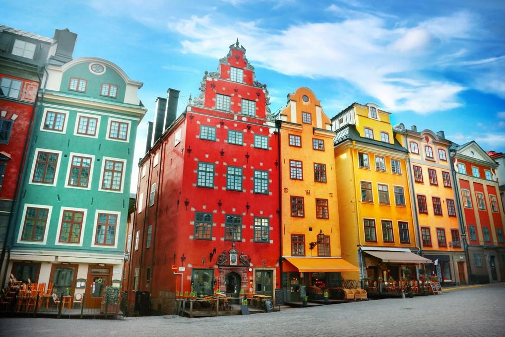 Gamla Stan es el principal lugar turístico de Estocolmo.