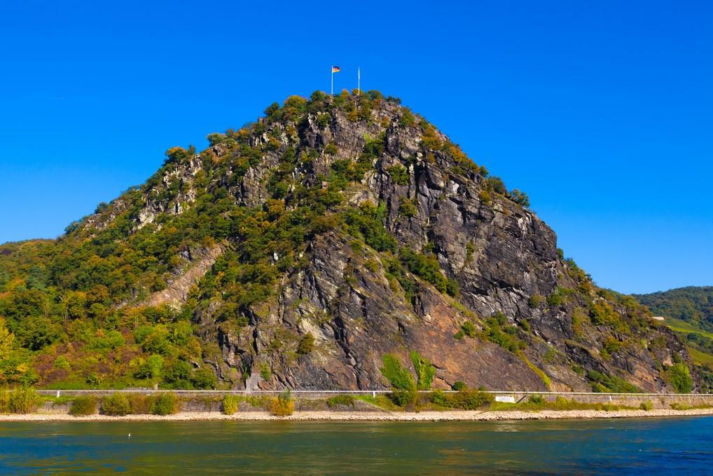 La Roca Loreley es uno de los principales atractivos del Rhin.