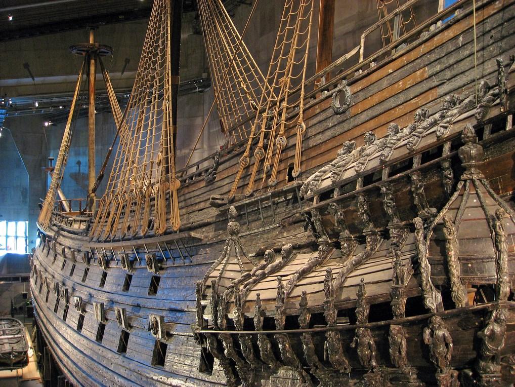 El Museo Vasa guarda el barco homónimo, una joya del siglo XVII.