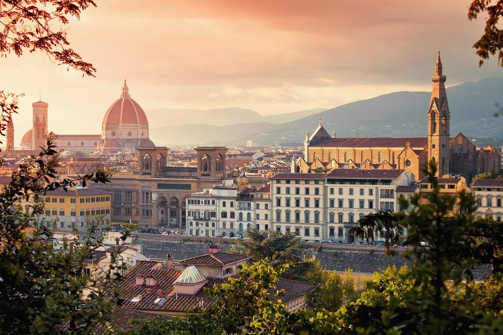 Florencia por su arte, es una de las mejores ciudades de Europa para hacer una Escapada.