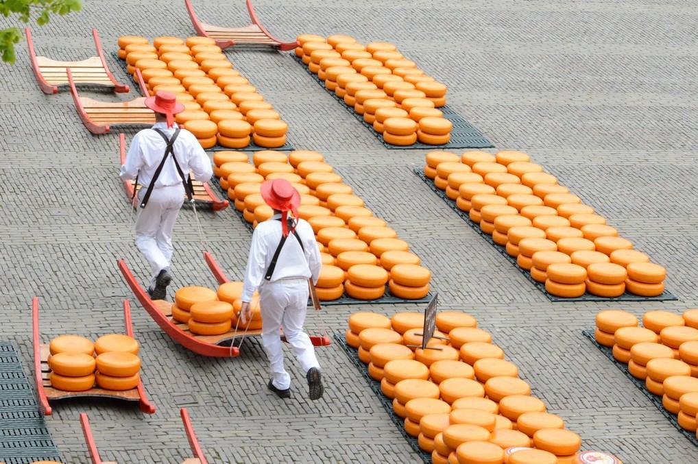 En Holanda, el queso es un asunto muy serio. ¿Prefieres Gouda o Edam?