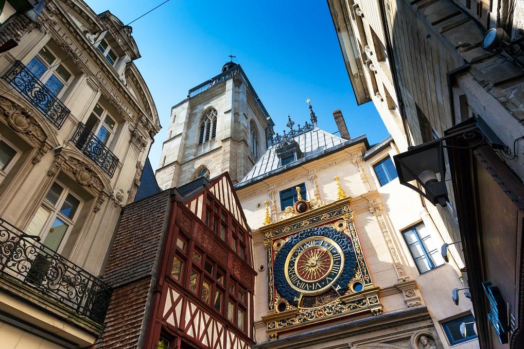 Rouen es una de las ciudades más importantes y bellas de Normandía, que puedes ver en un crucero por el Sena.