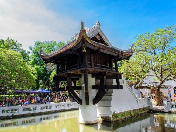 La Pagoda del Pilar Único es una de las cosas que sí tienes que ver en Hanoi