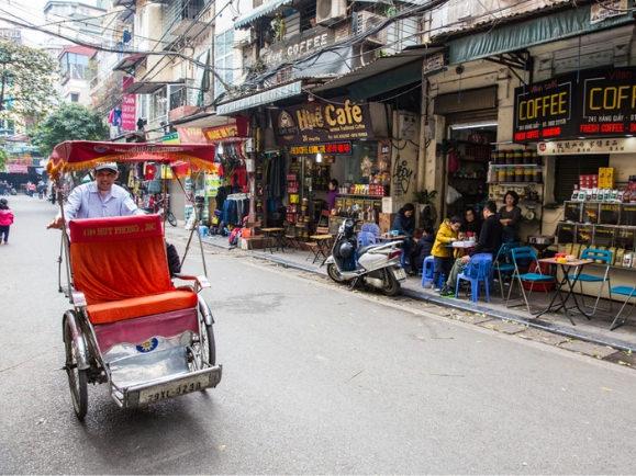 El barrio antiguo es una de las cosas que sí tienes que ver en Hanoi